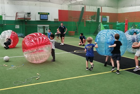 BUBBLE SOCCER PARTY